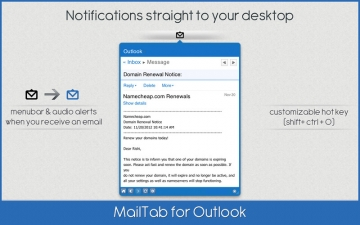 MailTab for Outlook スクリーンショット2