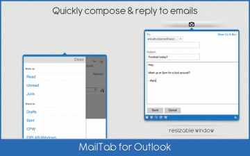 MailTab for Outlook スクリーンショット3