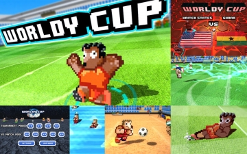Worldy Cup - Super power soccer スクリーンショット1