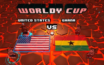 Worldy Cup - Super power soccer スクリーンショット3