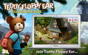 Teddy Floppy Ear - Mountain Adventure スクリーンショット1