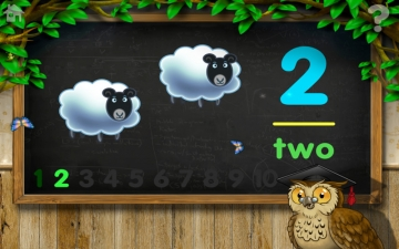 Count 1 to 10 Free - Mrs. Owl's Learning Tree スクリーンショット2