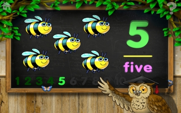 Count 1 to 10 Free - Mrs. Owl's Learning Tree スクリーンショット4