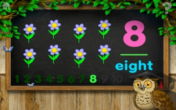 Count 1 to 10 Free - Mrs. Owl's Learning Tree スクリーンショット5