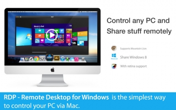RDP - Remote Desktop for Windows スクリーンショット1