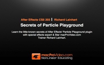 Course For After Effects Secrets of Particle Playground スクリーンショット1
