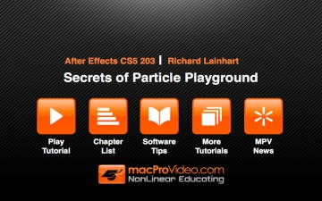 Course For After Effects Secrets of Particle Playground スクリーンショット2
