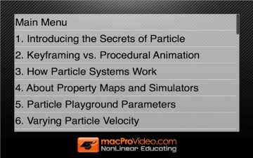 Course For After Effects Secrets of Particle Playground スクリーンショット3