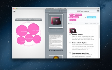 Bubble Browser for Evernote スクリーンショット1