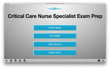 Critical Care Nurse Specialist Test Prep スクリーンショット1