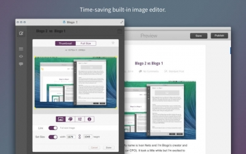Blogo - Simple, powerful blog editor app スクリーンショット2