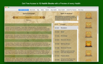 Hadith Collection (Sahih Al Bukhari, Sahih Muslim & More Islamic Collection) - Islam スクリーンショット1