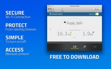 Hotspot Shield VPN -Best VPN for WiFi Security, Privacy, Unblock Sites スクリーンショット1