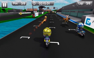 MiniBikers: The game of mini racing motorbikes スクリーンショット2