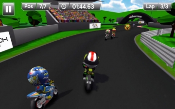 MiniBikers: The game of mini racing motorbikes スクリーンショット3