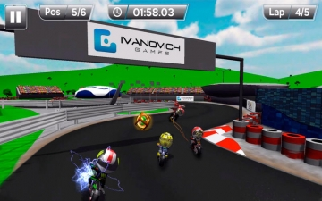 MiniBikers: The game of mini racing motorbikes スクリーンショット4