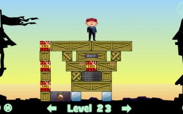 Crazy Blocks - Donald Trump Edition スクリーンショット1
