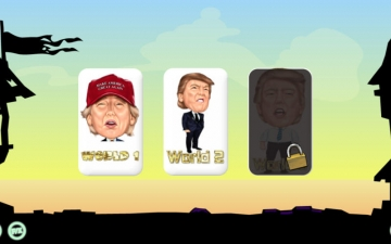Crazy Blocks - Donald Trump Edition スクリーンショット3