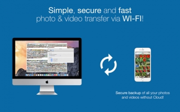 EasyPhotoSync - wifi photo and video sync, backup and transfer スクリーンショット1