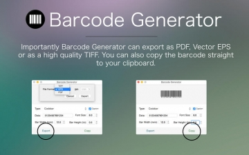 Barcode Generator - The best barcode & postal barcode creation app スクリーンショット3