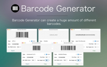 Barcode Generator - The best barcode & postal barcode creation app スクリーンショット4