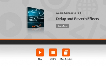 Audio Concepts 104 - Delay and Reverb Effects スクリーンショット1