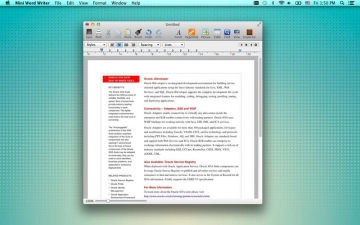 Mini Word Writer - for Microsoft Office Word Format & Other Documents スクリーンショット2