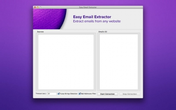 Easy Email Extractor スクリーンショット1