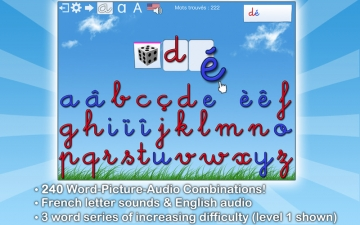 French Words for Kids - Learn to Pronounce and Write French Words with Dictée Muette Montessori スクリーンショット2