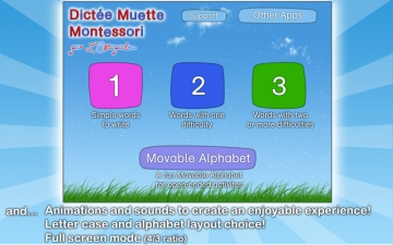 French Words for Kids - Learn to Pronounce and Write French Words with Dictée Muette Montessori スクリーンショット5
