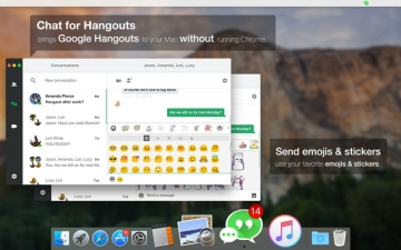 Chat for Hangouts - Message & Video Call スクリーンショット2