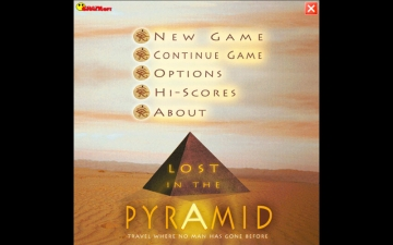 Lost in the Pyramid for Mac スクリーンショット1
