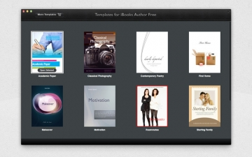 Templates for iBooks Author Free スクリーンショット1