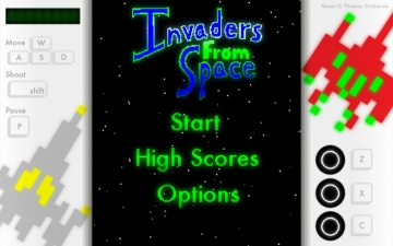 Invaders from Space スクリーンショット1