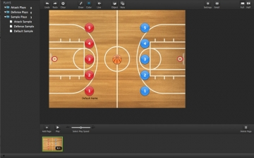 CoachBase - Animated coach clipboard playbook スクリーンショット1