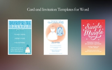 card and invitation templates for word by j a mac app storeの