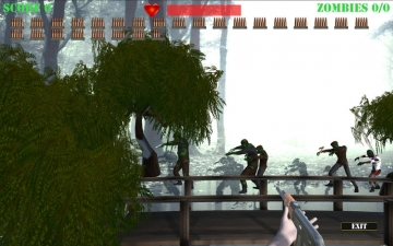 Zombie Attack Shooter スクリーンショット2