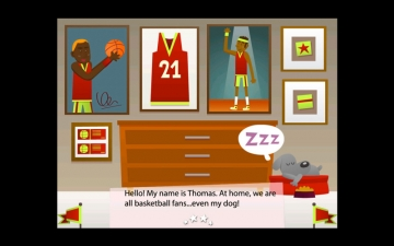 Basketball Fan-Children's Story Book スクリーンショット2