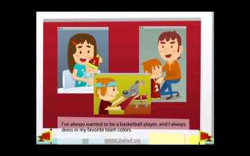 Basketball Fan-Children's Story Book スクリーンショット3