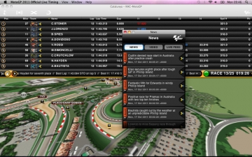 MotoGP 2011 Official Live Timing - Premium Pass スクリーンショット4