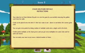 Chain Solitaire Royale スクリーンショット2