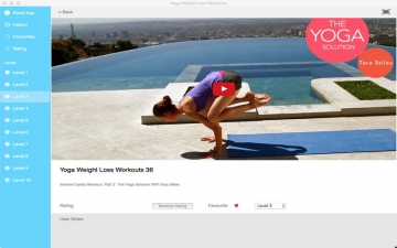 Yoga Weight Loss Workouts スクリーンショット4