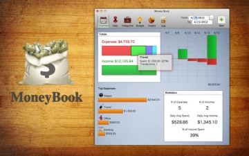 Money Book - Money Management for Business スクリーンショット1