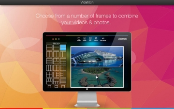Vidstitch - Video and Picture Collage Frame スクリーンショット2