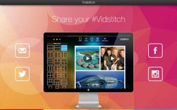 Vidstitch - Video and Picture Collage Frame スクリーンショット5