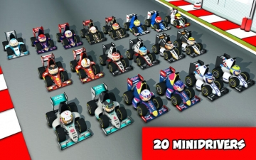 MiniDrivers: The game of mini racing cars スクリーンショット1