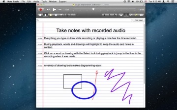 Note Studio - Contextual Note Taking for Audio, Video, Text, and the Web スクリーンショット2