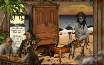 Robinson Crusoe and the Cursed Pirates スクリーンショット2