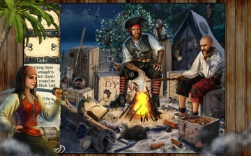 Robinson Crusoe and the Cursed Pirates スクリーンショット4