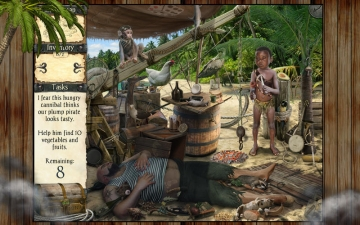 Robinson Crusoe and the Cursed Pirates スクリーンショット5